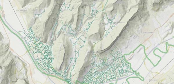 Les réseaux d'eau potable et d'assainissement de Grenoble Alpes Métropole sont en ligne