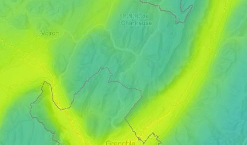Cartographiez les indices de qualité de l'air